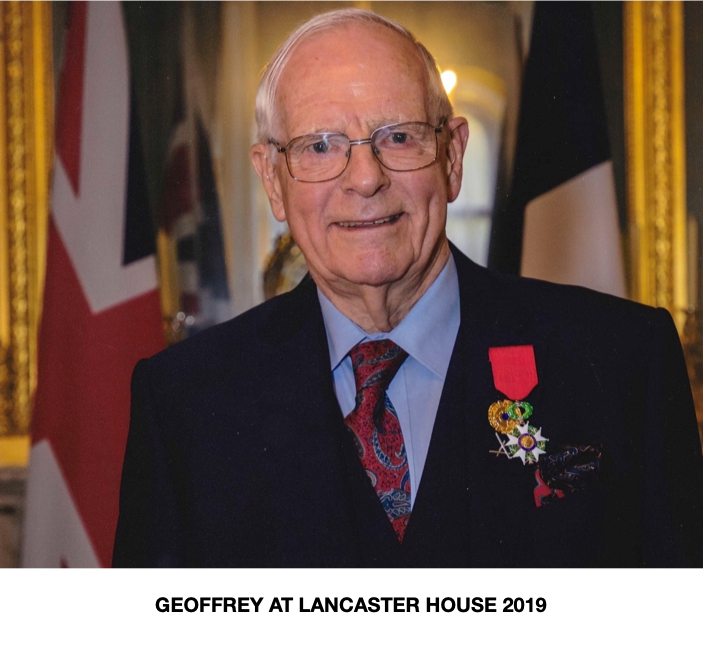 Geoffrey at Lancaster House